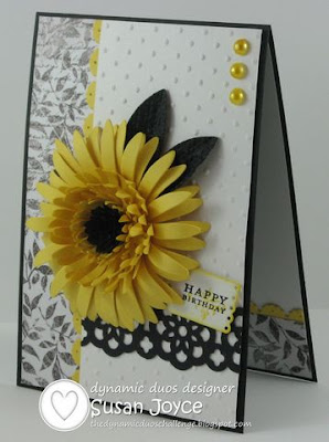 Cat S Ink Corporated Dynamic Duos 3 Yellow Gerbra