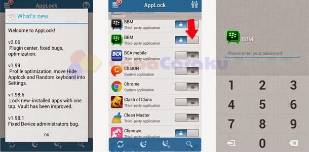 Cara Kunci Pesan Sms Bbm Video Foto Di Android Coba Caraku