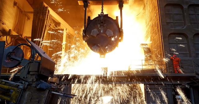 Esett a világ acéltermelése júniusban és az első fél évben