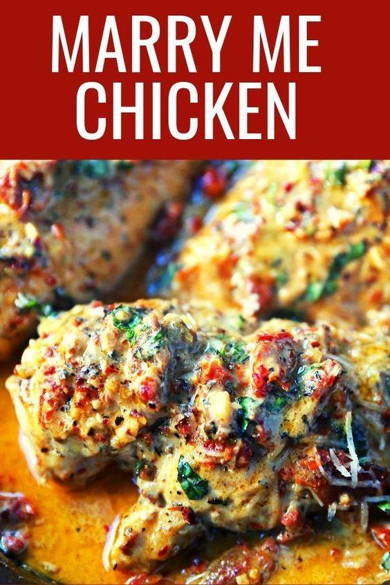 The Best Chicken (Marry Me Chicken)