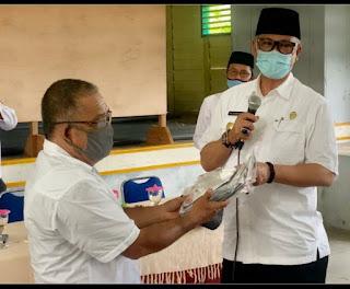 Pjs Bupati Lingga Silaturahmi Ke Lingga Timur, Camat : Terimakasi Kunjungannya