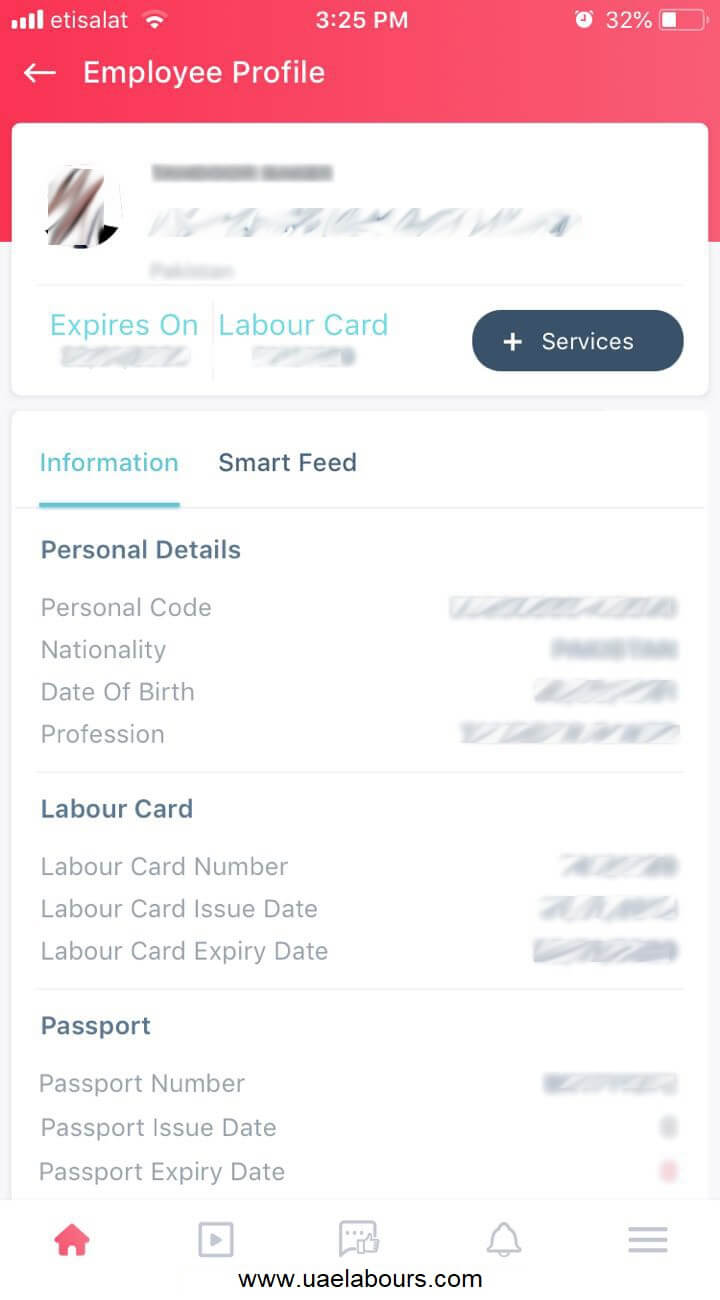 uae labour card, labour card, labor card