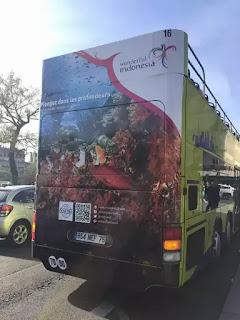 Bus Open Tour Wonderful Indonesia di Paris Prancis4