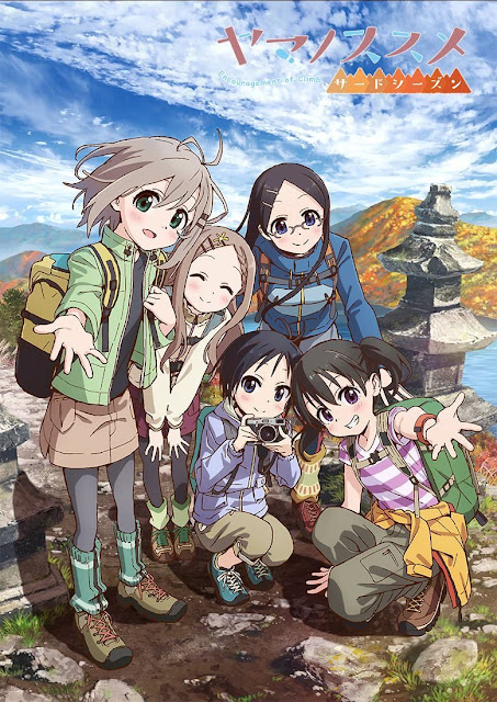 Yama no Susume S1 + S2 + S3 Sub Indo Batch Download
