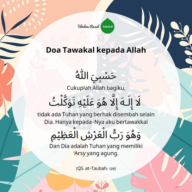 Doa Tawakal Kepada Allah