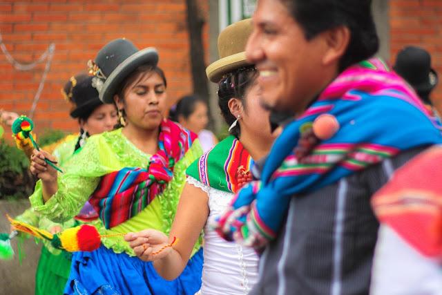 Carnaval Boliviano na Feira da Kantuta