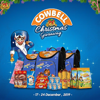 Cowbell Milk Christmas Giveaway Promo 2019 | How to Participate