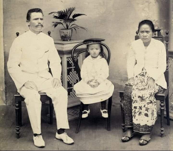 konon merupakan gambar sosok gundik di masa kolonial © istimewa