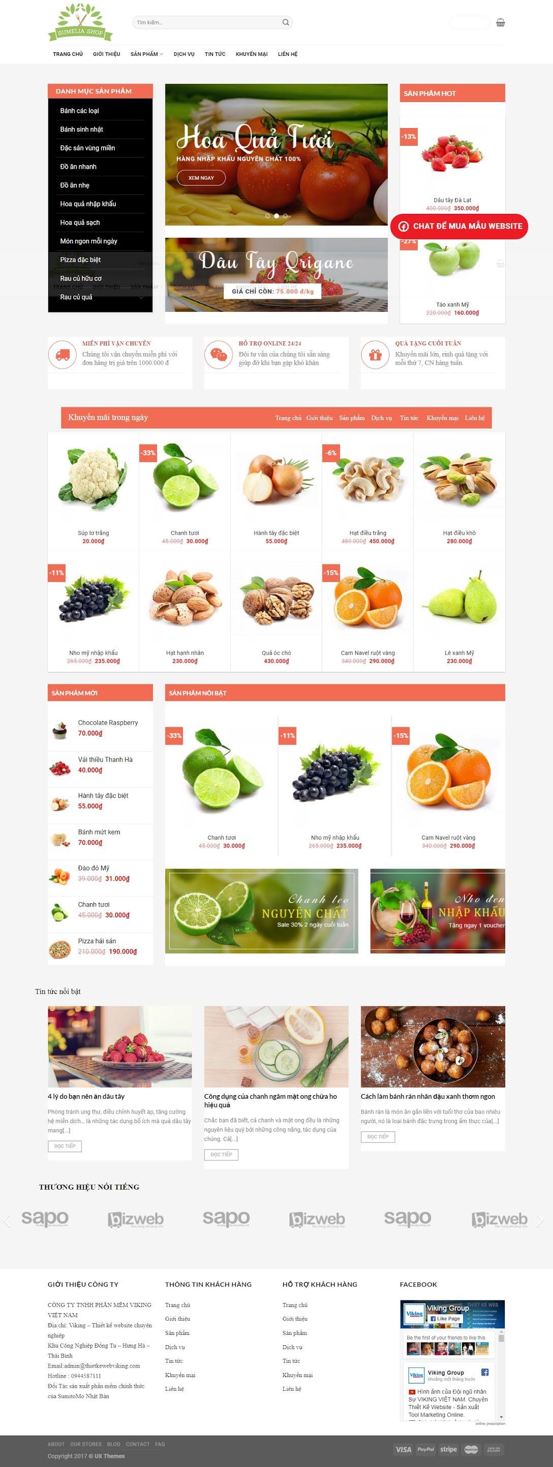 BÁN HÀNG 086 - hoa quả, trái cây