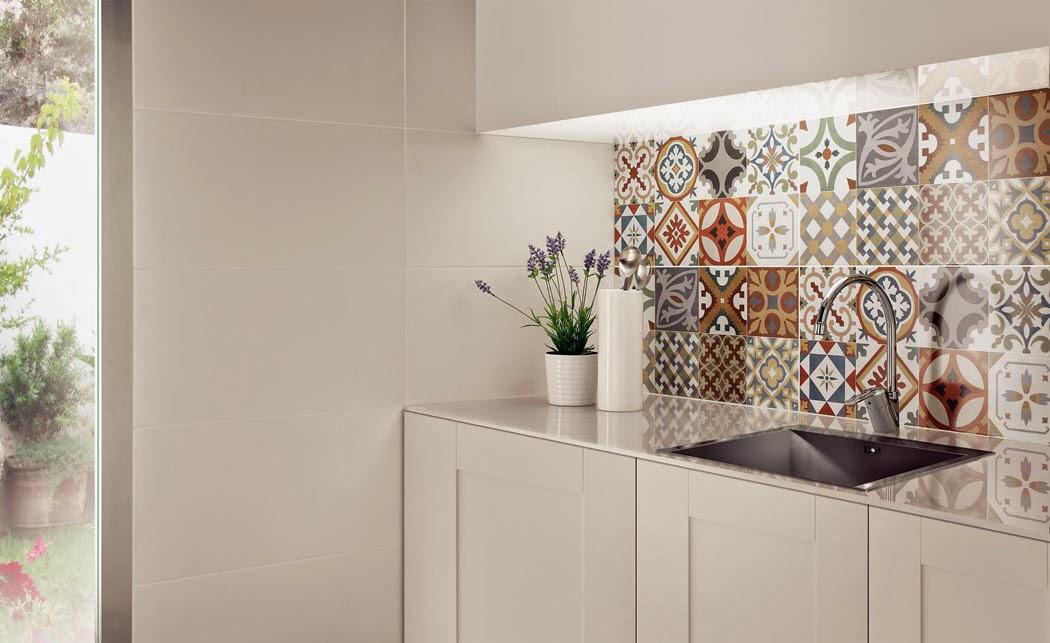 Mil ideas para decorar chapado vintage en la cocina - Azulejos vintage cocina ...