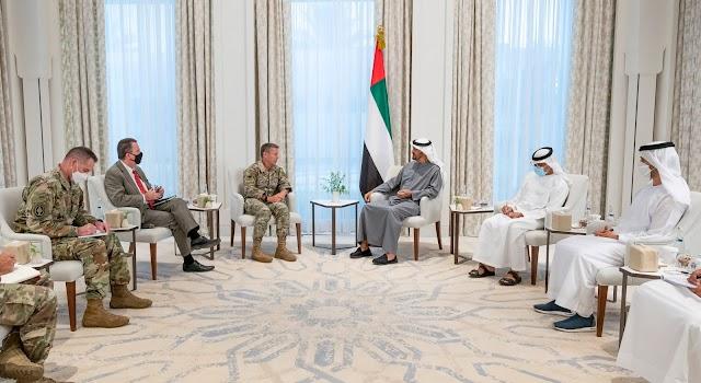 Sheikh Mohamed bin Zayed meets General Miller
