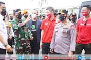 Kunjungi Natuna, Panglima TNI dan Kapolri Tinjau Lansung Pelaksanaan Vaksinasi