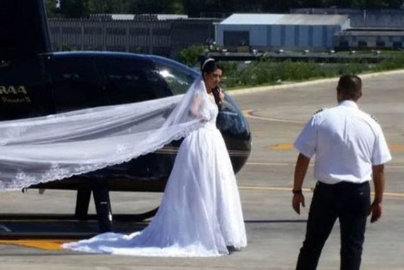 SHOCKING: Bride Dies In A Helicopter Crash While Trying To Surprise Groom!