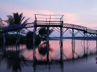 Laguna Pantai Sawangan Puring Yang Mempesona