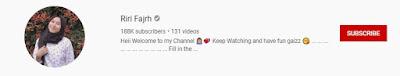 Riri Fajrh membahas seputar youtube