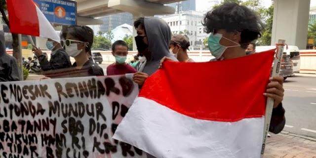 Buntut Kebakaran Lapas Tangerang, Sekelompok Anak Milenial Desak Menkumham Copot Dirjen PAS