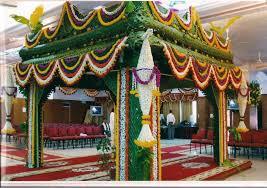Wedding Mandap Decoration with Flowers