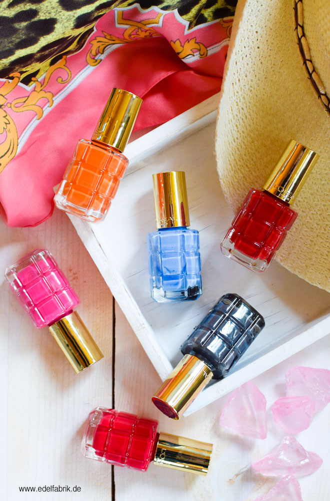 Alle Lacke der neuen L'Oréal Paris Color Riche Le Vernis L'Huile Sommeredition