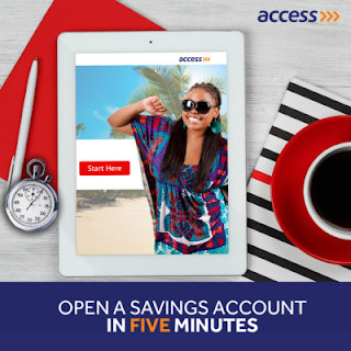 How to Open New Access Bank Account via Phone