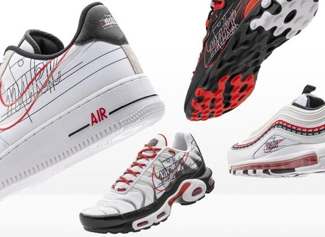 Nike Merilis Logo Sneakers Dengan Ditulis Tangan - NIKE