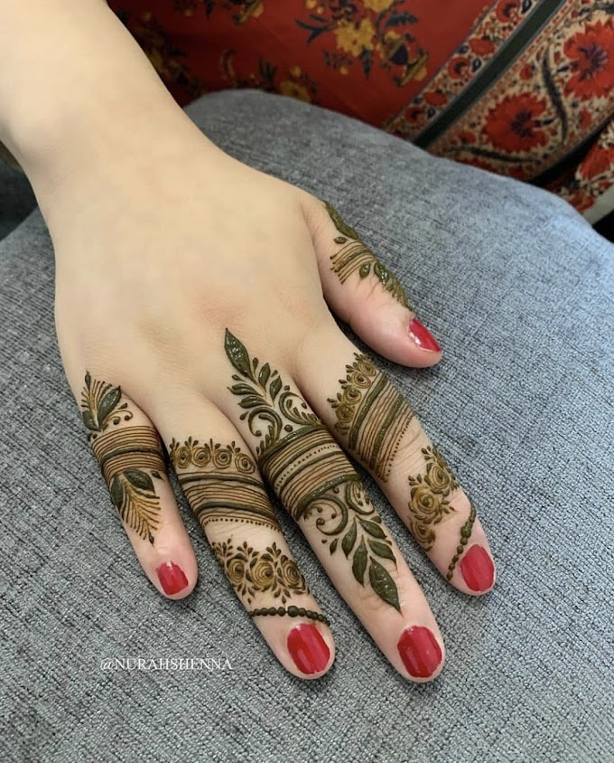 New indian mehndi design pics