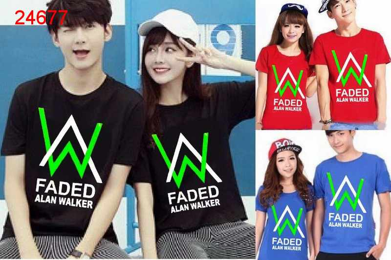 Jual Baju Couple Alan Walker Faded - 24677