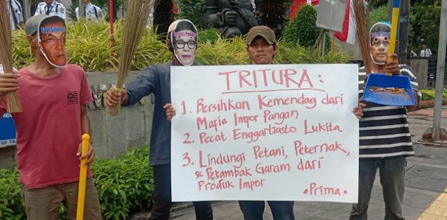 Demonstran Prima: KPK, Tangkap Enggartiasto Lukita!