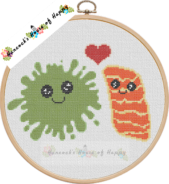 kawaii sushi sashimi wasabi japan cross stitch pattern chart free download perler bead design pixel art