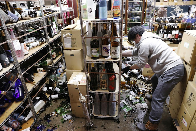 Terremoto com epicentro no mar a leste do Japão é sentido em Tóquio e Fukushima