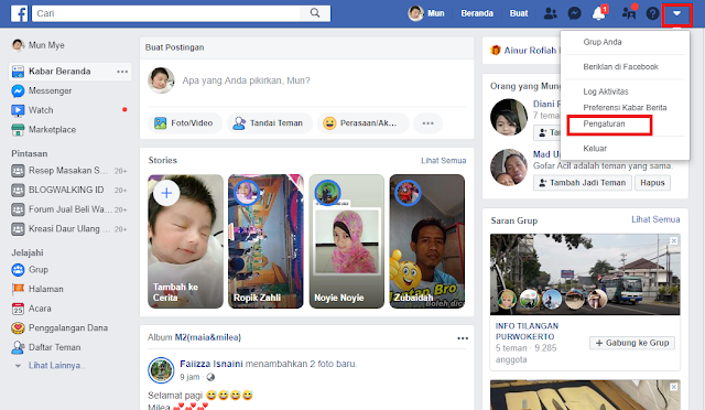 Cara Mengganti Nama Facebook/FB Di Android Dan PC