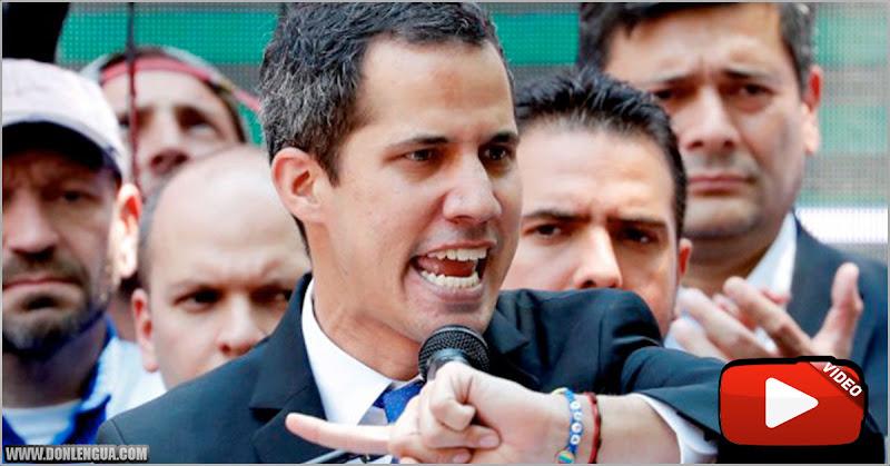 Juan Guaidó asegura que su firma fue falsificada en el contrato de Goudreau