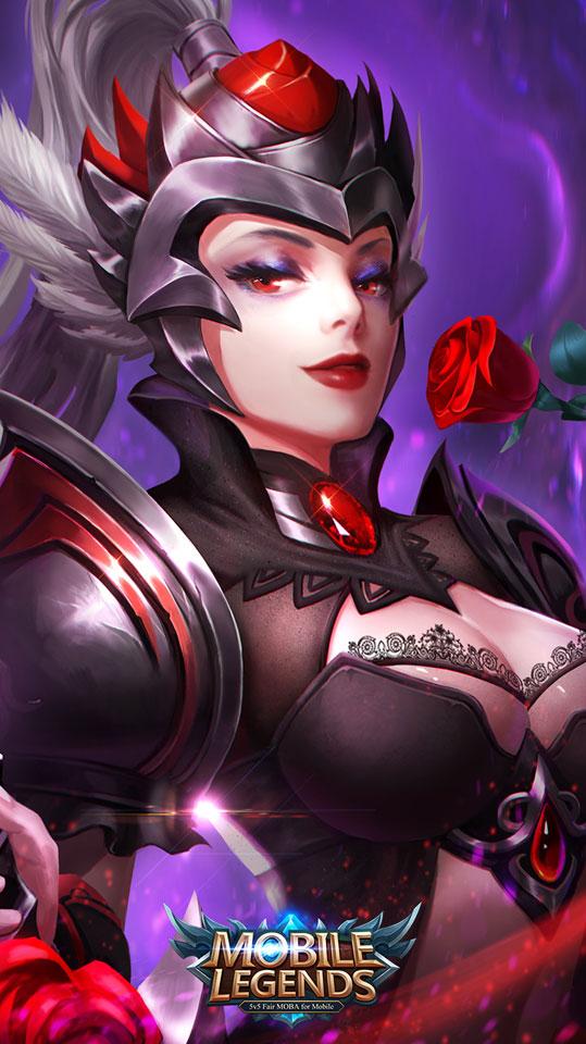 Freya-dark-rose-wallpaper