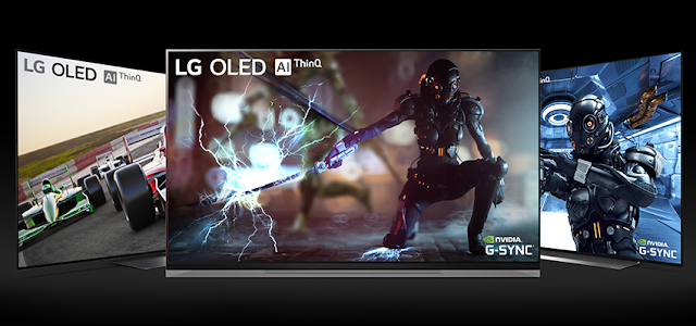 LG OLED TVs with NVIDIA G-SYNC for a Serious Competitive Edge