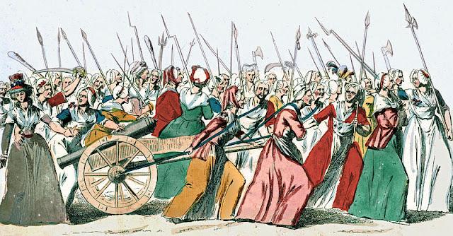 rebelion, agitacion, revolucion, francesa, popular