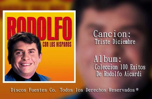 Triste Diciembre   Rodolfo Aicardi Lyrics