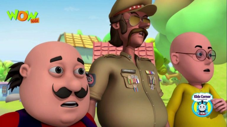 Motu Patlu and chingam New Pics