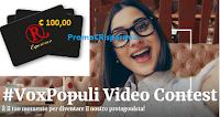Logo Concorso ''Vox Populi'': vinci gratis Gift Card RoadHouse da 25€, 50€ e 100€