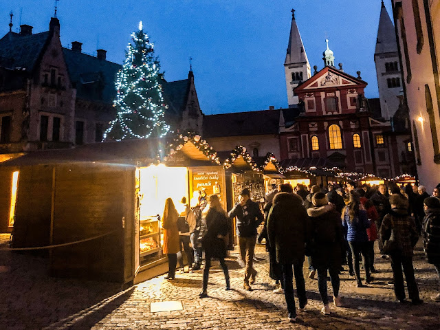 3 days in Prague at Christmas: castle markets