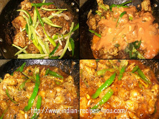 Chicken Karchi Kadhai Recipe