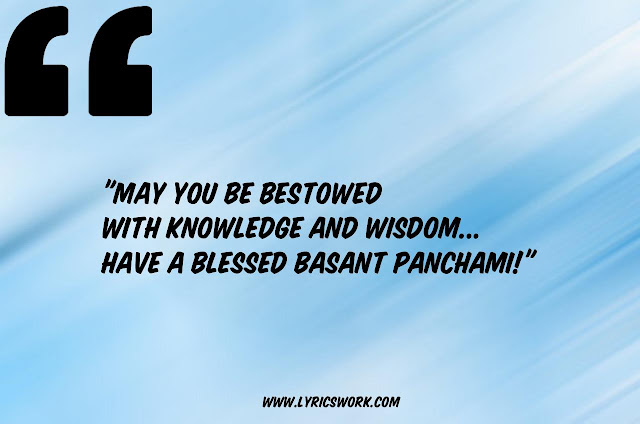 Whatsapp Quotes For Basant Panchami