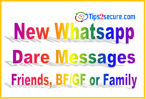 Summary Whatsapp Dare Games Messages Amp Questions With Answer