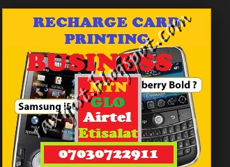 Raxgistblog Tips On How To Start Recharge Card Printing Business In