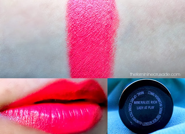 MAC Mineralize Rich Lipstick in 'Lady At Play'