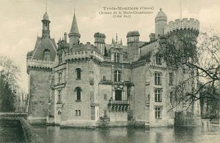 El Castillo de la Mothe-Chandeniers en el siglo XIX