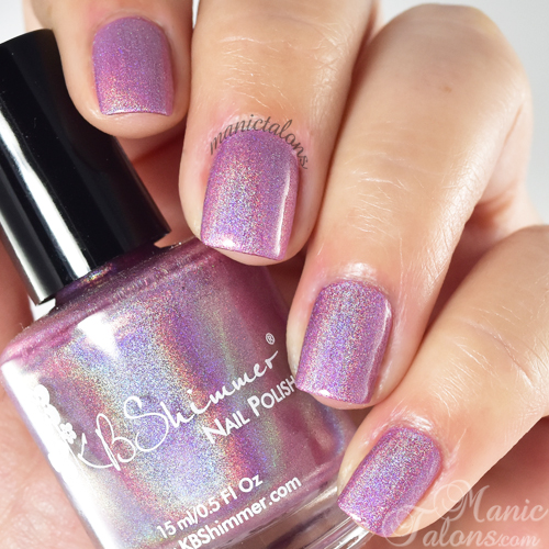 KBShimmer Peony Pincher Swatch
