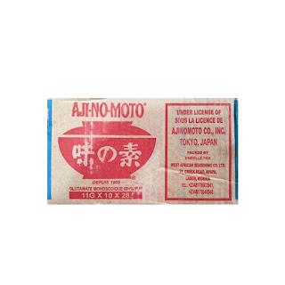 Aji-No-Moto Seasoning 11g x 280 on white background