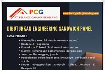 Lowongan Kerja Engineering Sandwich Panel