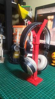 Membuat Holder Headset Bando