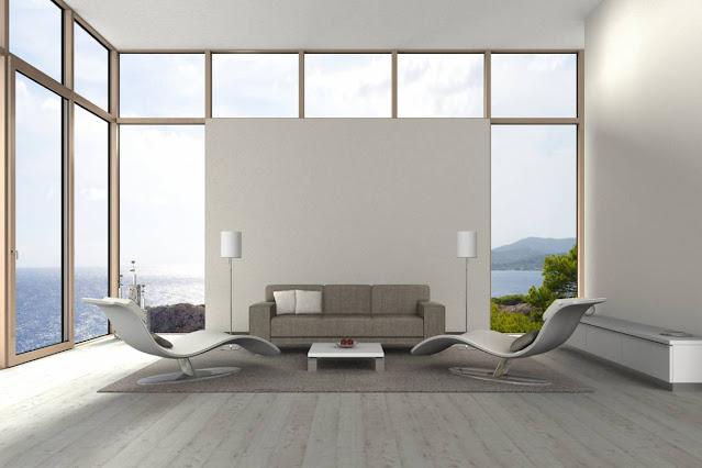 baie vitrée terrasse