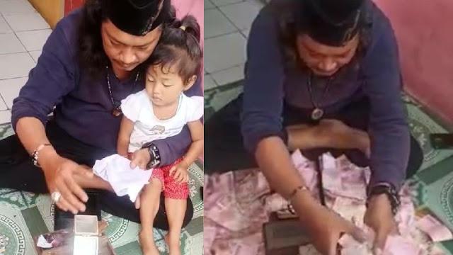 Pria Gondrong yang Viral Gandakan Uang Kok Jadi Tersangka Kasus Perlindungan Anak?